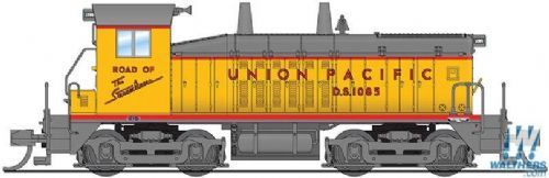 Broadway 3870 EMD NW2 - Sound and DCC - Paragon3 -- Union Pacific #1085 (Armour Yellow, gray, red;